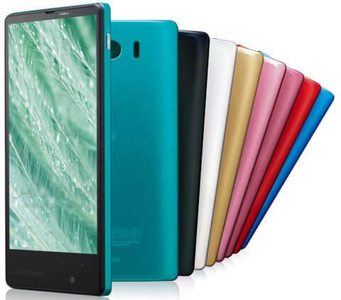 Sharp Aquos Xx Mini 303SH colors