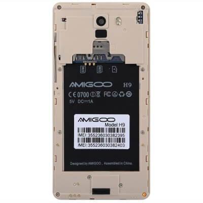 Amigoo H9 battery