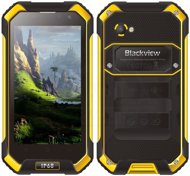 Blackview BV6000 yellow