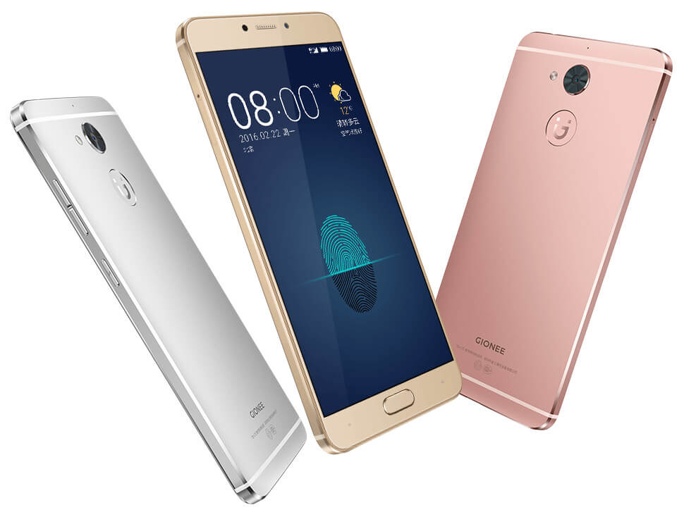 Gionee S6 Pro colors