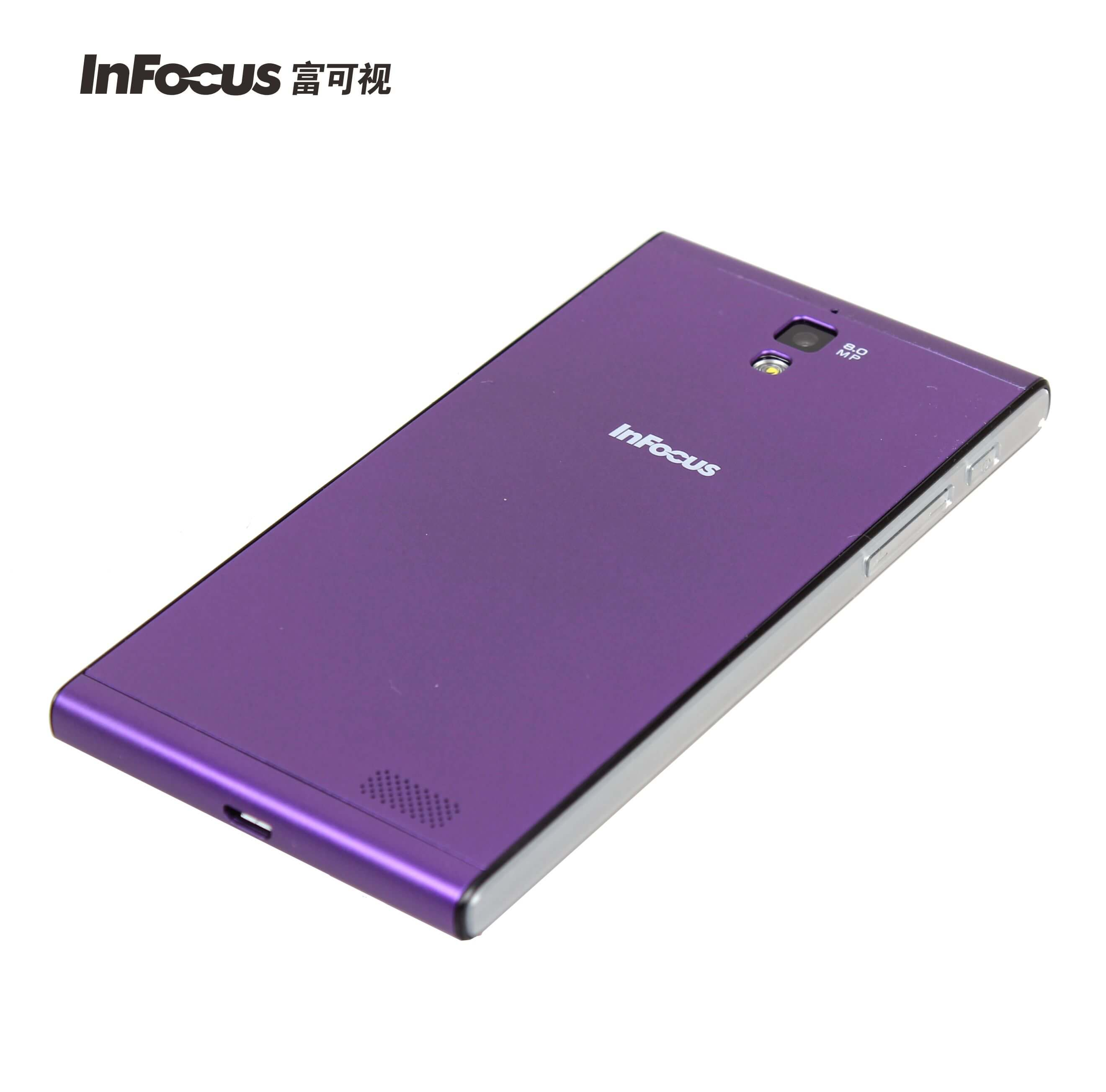 InFocus M310 Charm Purple back