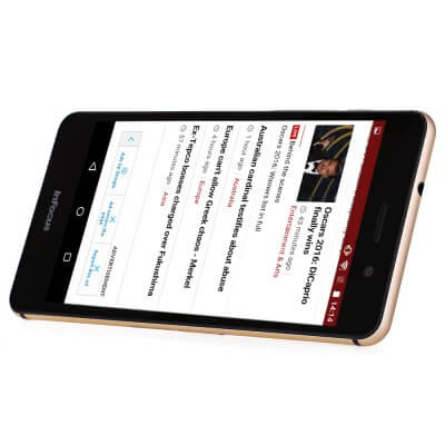 InFocus M560 screen