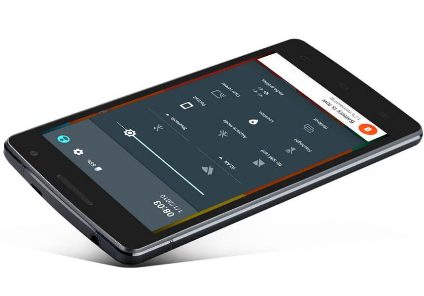 THL 2015A screen