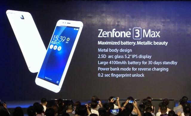 Asus Zenfone 3 Max price