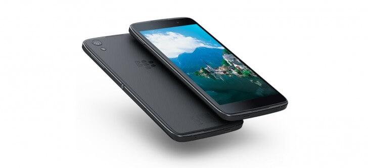 BlackBerry DTEK50 screen
