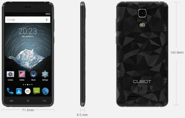 سعر ومواصفات هاتف Cubot Z100