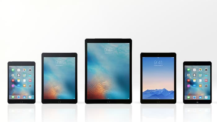 هل بالفعل سوف تطلق Apple ثلاثة أجهزة جديدة من الايباد ؟