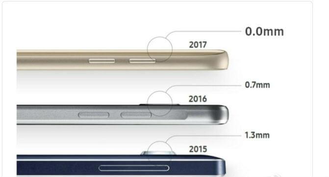 هاتف Samsung Galaxy S8 سوف يقدم تصميم جديد للكاميرا