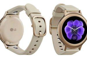 تصميم الساعة الذكية LG Watch Style