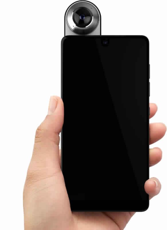 شكل هاتف Essential PH-1  - بوابة الموبايلات