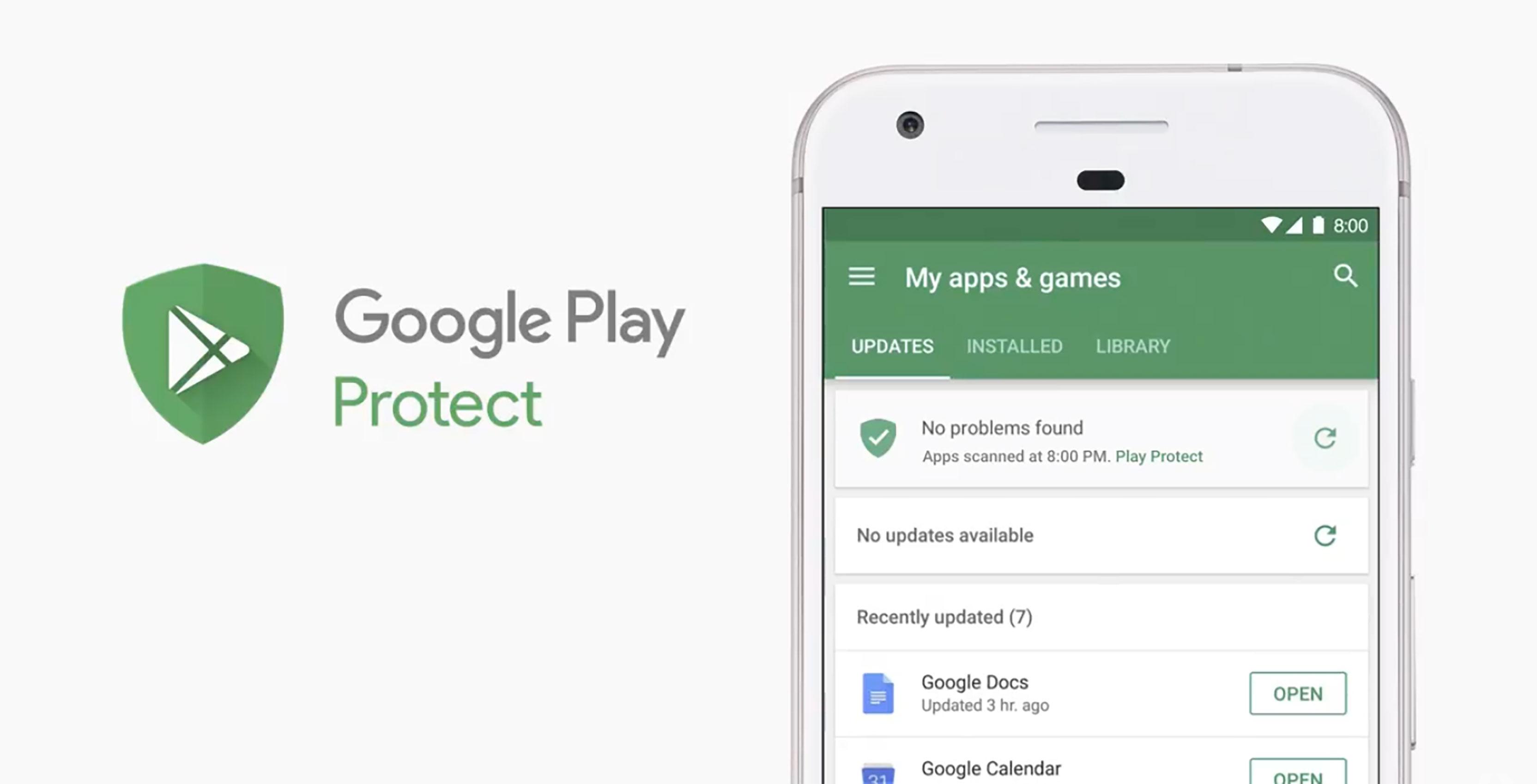 تطبيق جديد من جوجل لحماية الهواتف من الفيروسات
