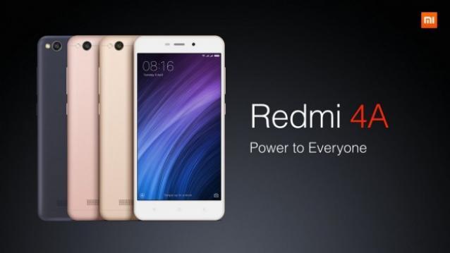 مميزات هاتف Xiaomi Redmi 4A