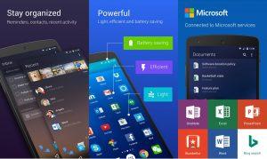 تطبيق Microsoft's Arrow Launcher من أفضل تطبيقات الأندرويد