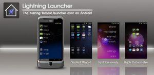 تطبيق Lightning Launcher من أفضل تطبيقات الأندرويد