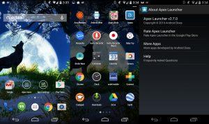 تطبيق Apex Launcher من أفضل تطبيقات الأندرويد