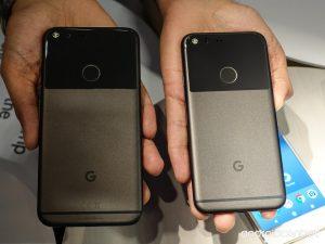 تصميم هاتفي Google Pixel XL و Pixel 2 XL