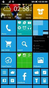 تطبيق Launcher 8 من أفضل تطبيقات الأندرويد