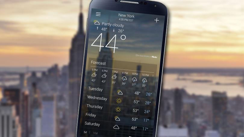 قائمة أفضل تطبيقات معرفة أحوال الطقس