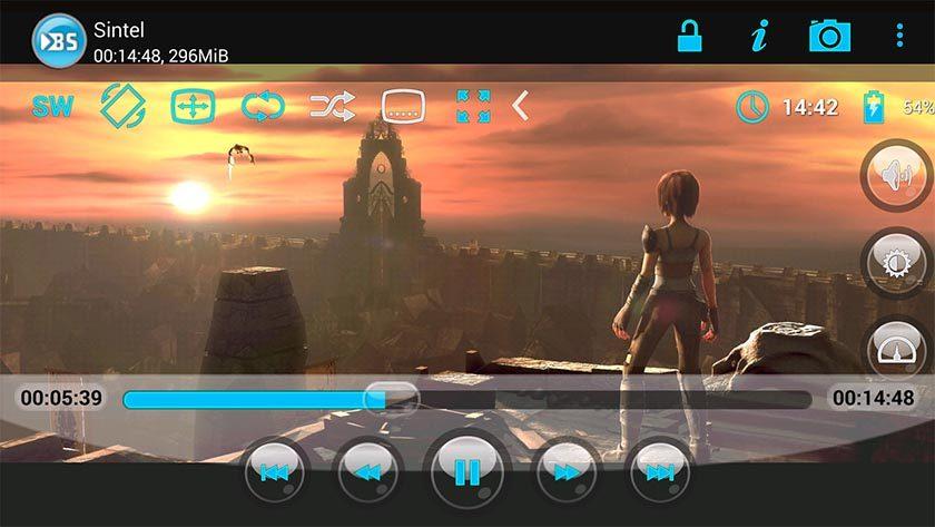 تطبيق BSPlayer لتشغيل ملفات الفيديو