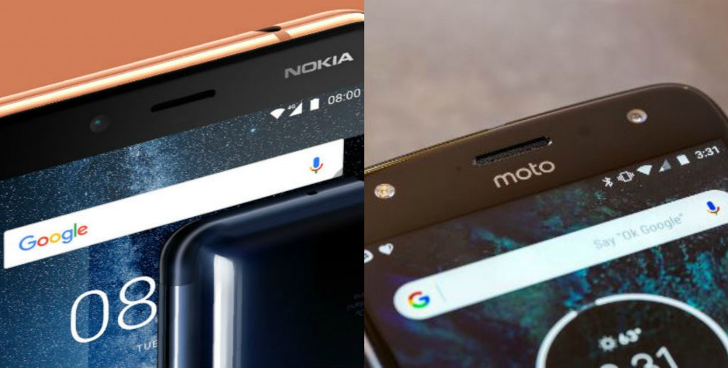 Nokia 7 vs Moto X4