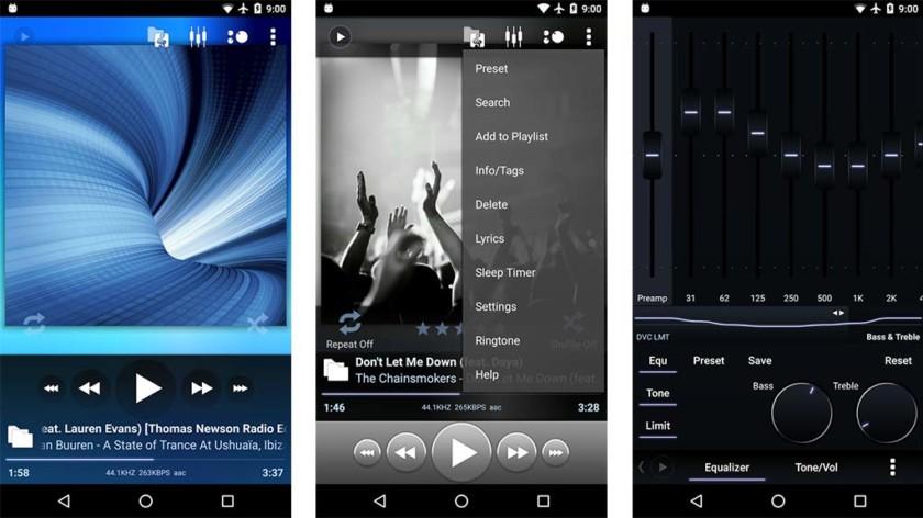 تطبيق Poweramp لتشغيل ملفات الموسيقى