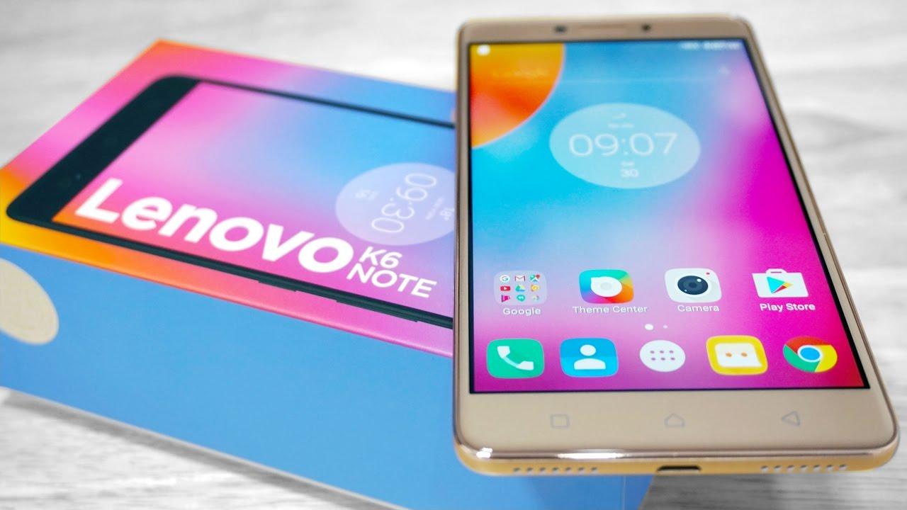 الهواتف الذكية فئة 3000 جنيه هاتف لينوفو K6 Note