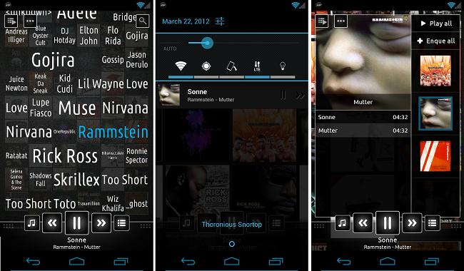 تطبيق n7player لتشغيل ملفات الموسيقى