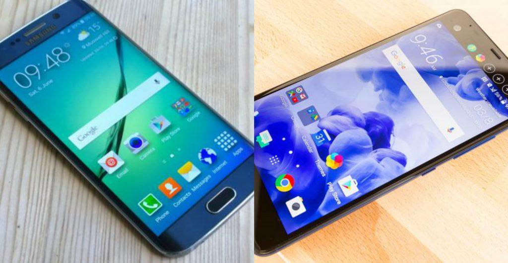 Samsung galaxy S7 edge vs htc u ultra