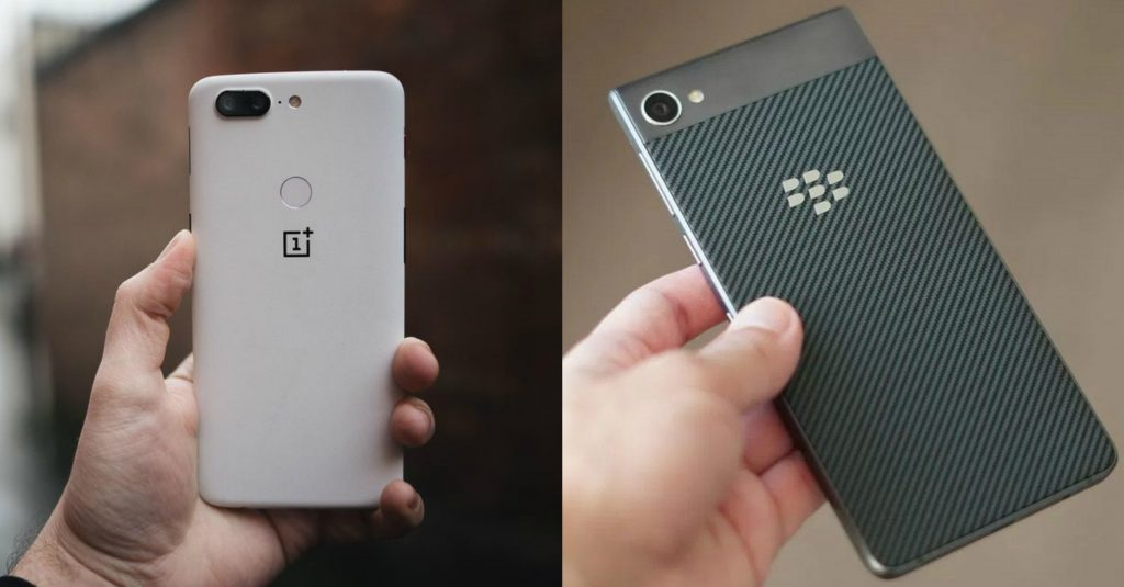 Oneplus 5T Vs. BlackBerry Motion