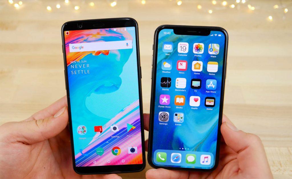 iphone-x-oneplus-5t