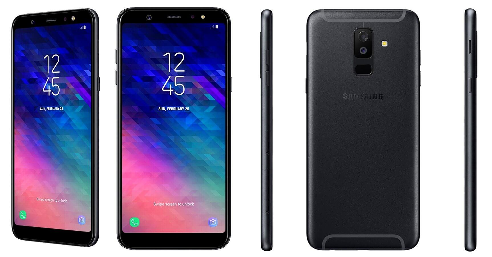 مراجعة مواصفات هاتفي Samsung الأحدث Samsung Galaxy A6 وGalaxy A6 Plus
