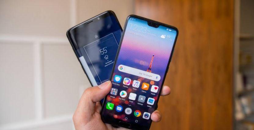 مقارنة بين هاتفي Huawei P20 Pro وSamsung Galaxy S9 Plus