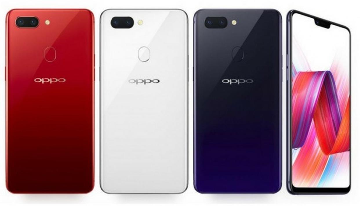 مقارنة تفصيلية بين هواتف Oppo F7 وXiaomi Redmi Note 5 وSamsung Galaxy A6 Plus