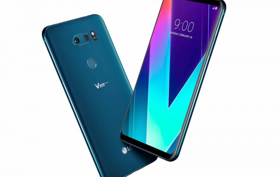 المراجعة الشاملة لأحدث هواتف شركة LG هاتف LG V35 ThinQ