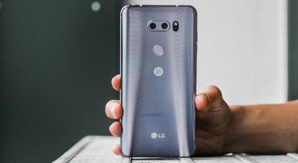 المراجعة الشاملة لأحدث هواتف شركة LG هاتف LG V35 ThinQ | بوابة