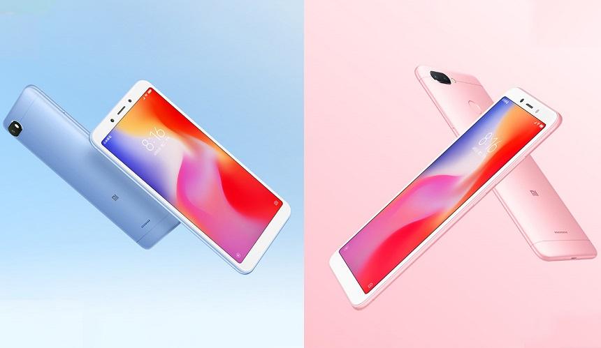 استمرارًا للتألق Xiaomi تُعلن رسميًا عن هاتفي Xiaomi Redmi 6 وRedmi 6A