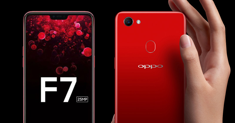 مقارنة تفصيلية بين هواتف Oppo F7 وSamsung Galaxy A6 Plus وXiaomi Redmi Note 5