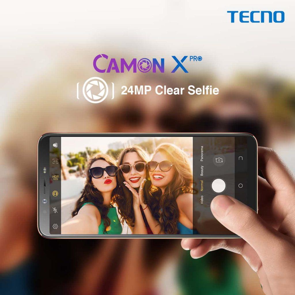 المراجعة الشاملة لهاتف Tecno Camon X Pro المتميز