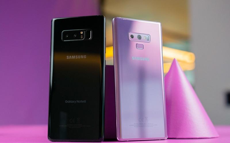 ماذا تغير في هاتف Samsung Galaxy Note 9 الجديد عن هاتف Samsung Galaxy Note 8