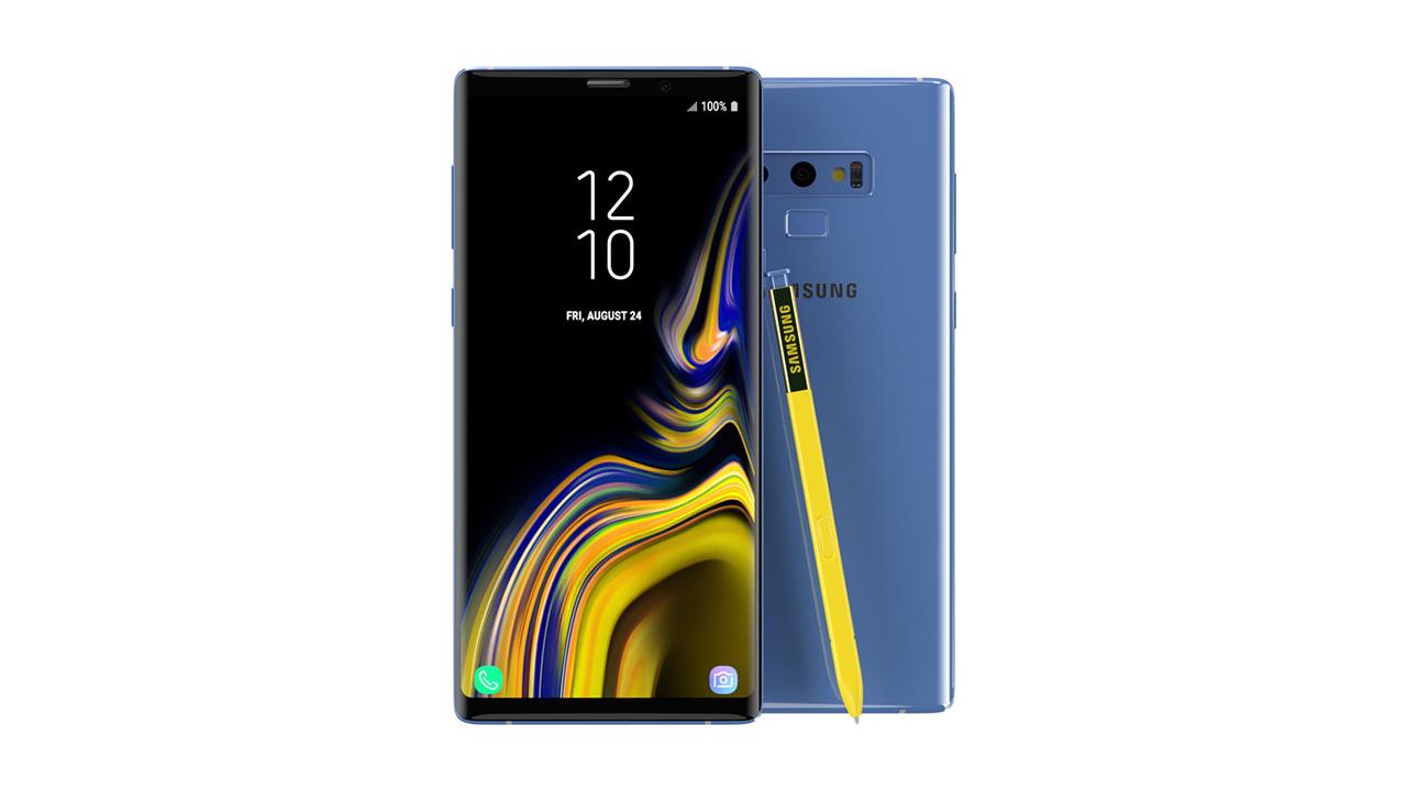 سامسونج تكشف رسميًا عن Samsung Galaxy Note 9 مع ساعة ذكية جديدة