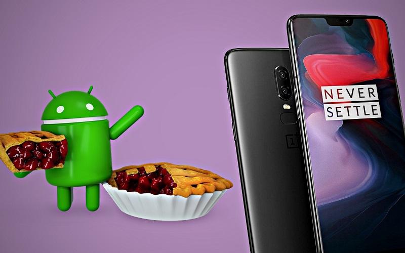 شركة OnePlus ترسل التحديث التجريبي الأول من Android Pie لهواتف OnePlus 6
