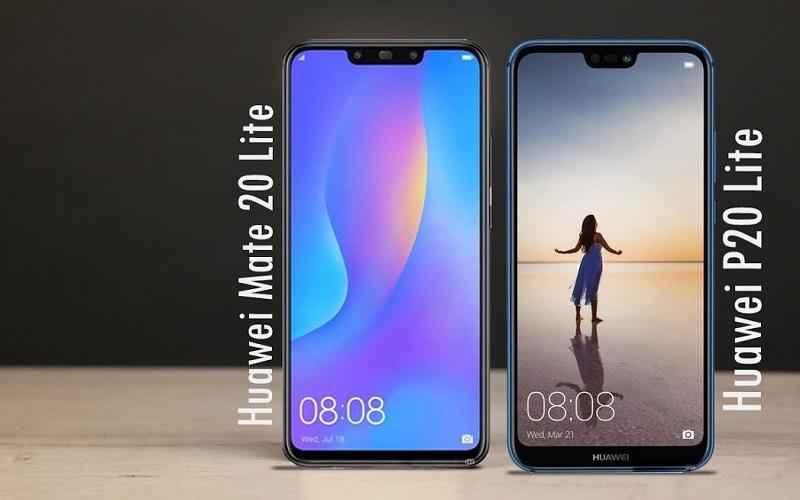 هاتف Huawei Mate 20 Lite أم هاتف Huawei P20 Lite ... أيهما أفضل في فئته