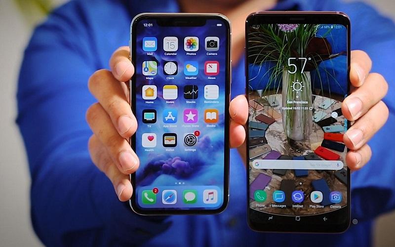 مقارنة بين الهاتفين الرائدين المتميزين iPhone XS وSamsung Galaxy S9 Plus