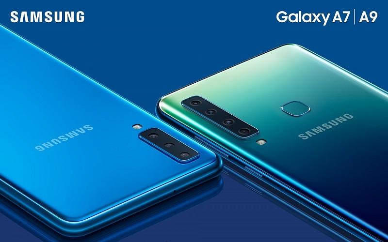مزايا وعيوب هاتفي Samsung الأحدث Samsung Galaxy A9 (2018) وSamsung Galaxy A7 (2018)
