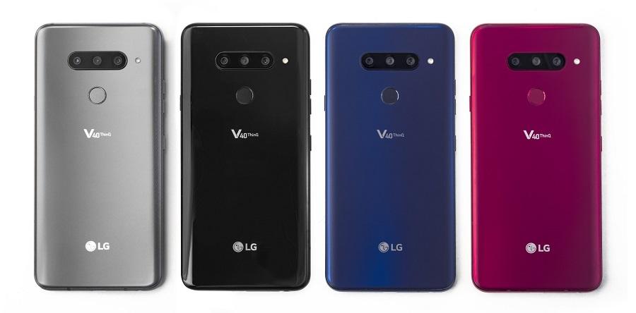 عملاق كوريا الجنوبية LG يعلن عن الهاتف الرائد الجديد LG V40 ThinQ