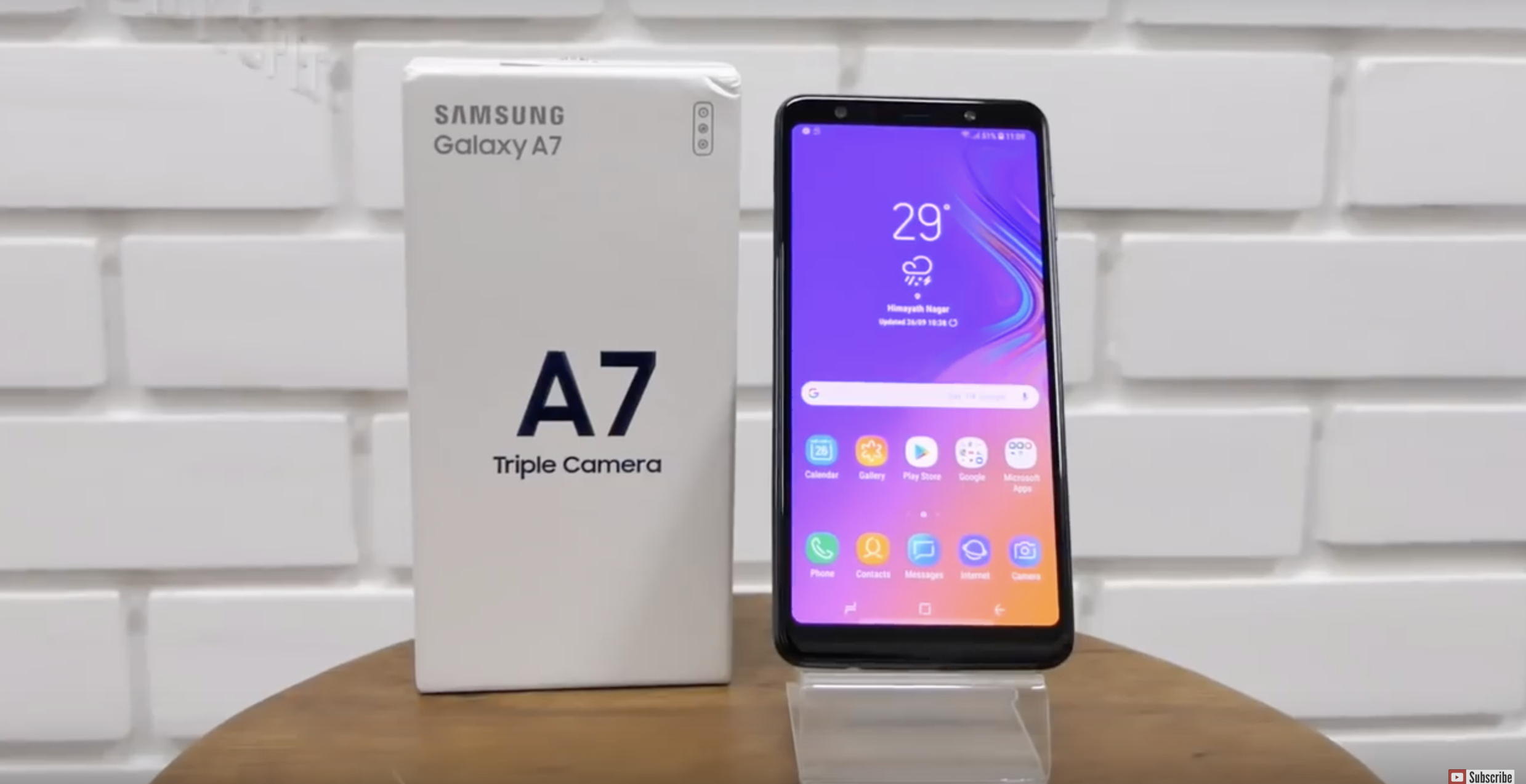 مراجعة هاتفي Samsung A9 و Samsung A7