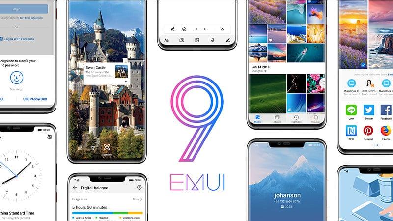 8 هواتف من Huawei تحصل على تحديث أندرويد Pie بواجهة مستخدم EMUI 9.0 في نوفمبر