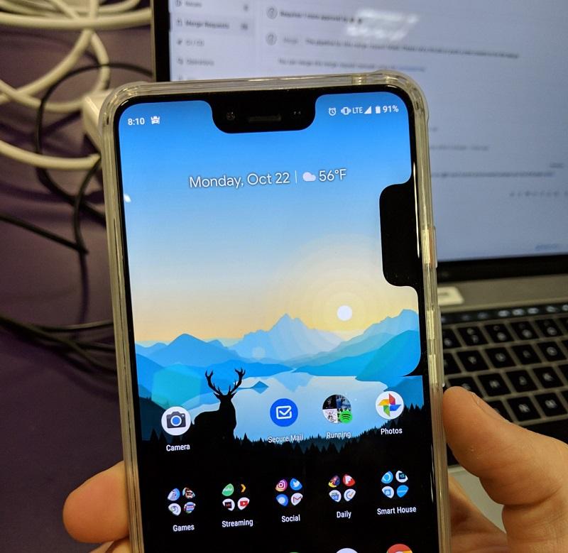 ظهور أول مشاكل هاتف Google Pixel 3 XL الرائد الجديد من Google