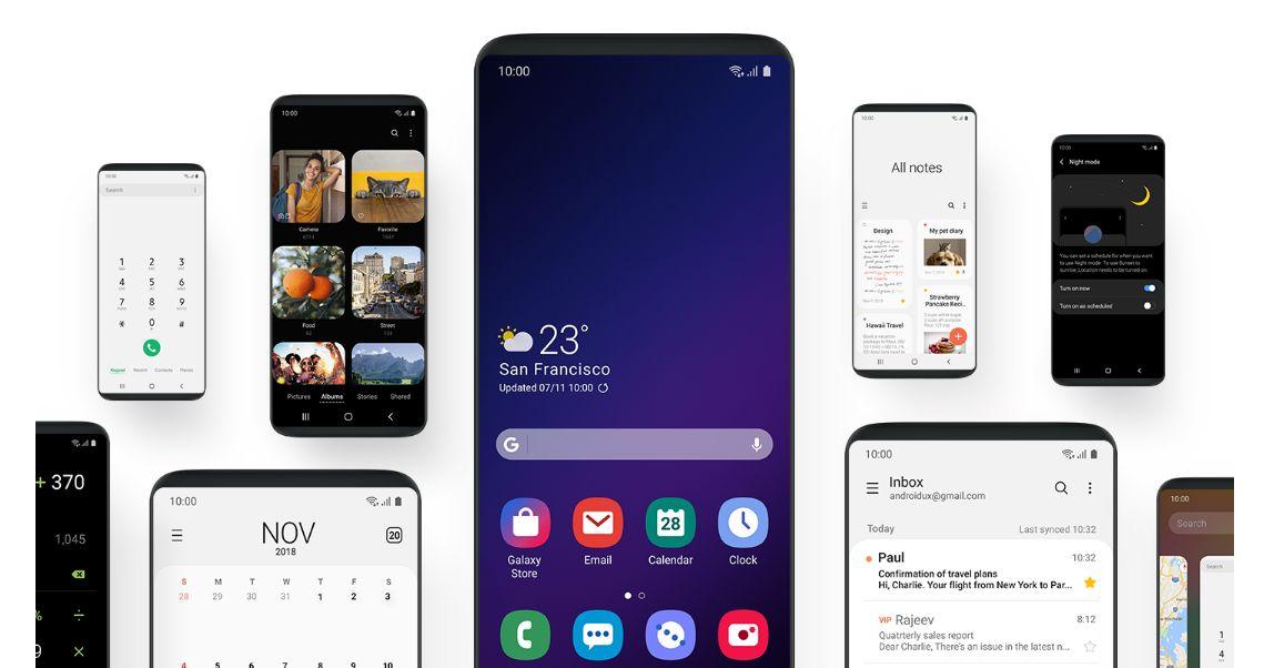 ما هي مميزات واجهة One UI الجديدة للعملاق الكوري Samsung