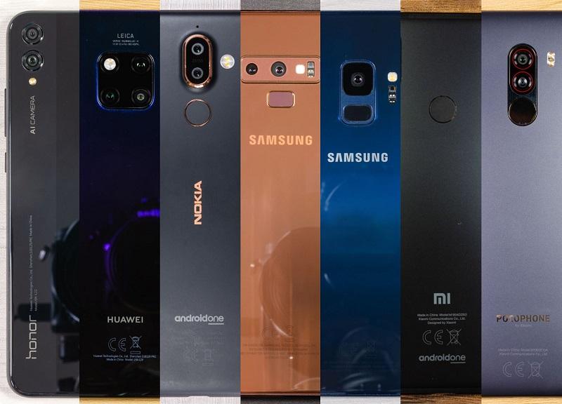 مواصفات وأسعار الهواتف الذكية العشرة الأكثر شهرة في السوق المصري في عام 2018